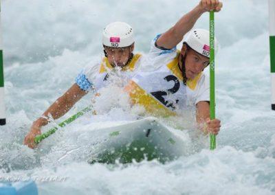 Luka Božič in Sašo Taljat na Olimpijskih igrah – London 2012