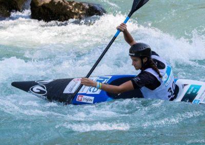 Na olimpijski progi v Deodoru, predelu Ria de Janeira se danes začenja svetovno prvenstvo v slalomu na divjih vodah